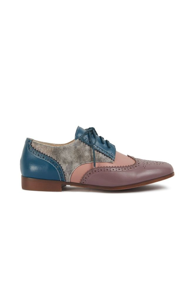 Brighton Clove flat brogue by Yull Shoes