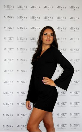 The Mia Playsuit - Black by Minky LDN