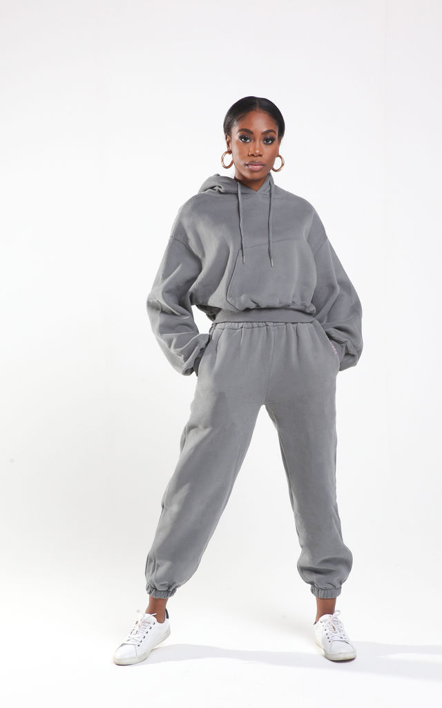 ADEMAR pewter grey tracksuit set by Millennium Dolls