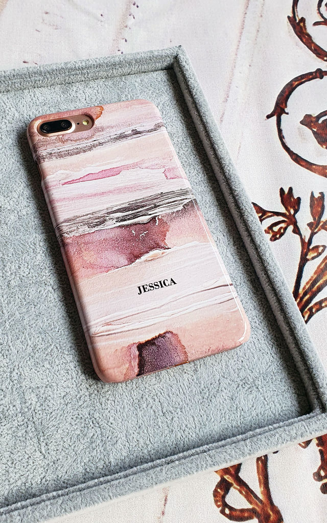 Watercolour Palette personalised phone case by Rianna Phillips