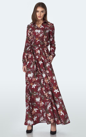 Maxi dresses with long sleeves by so.Nife