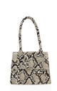 Tiny micro stone snake effect handbag by Hello Handbag