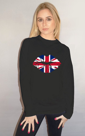 United Kiss Jumper in Black by Sade Farrell
