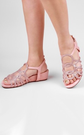 Winner Comfort Fit Wedge Sandals by Paradox London
