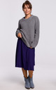 Warm and Cozy Pullover in Grey by MOE
