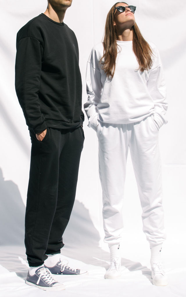 Boo Sweatpants WHITE by BOO