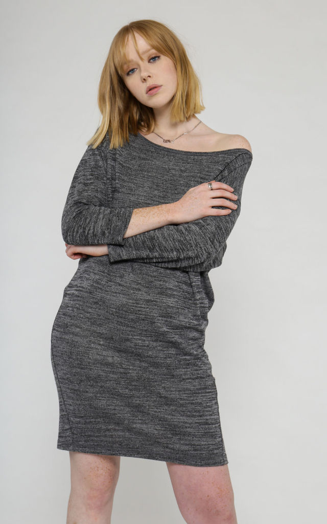 Qikeng sustainable casual knit dress by VILDNIS