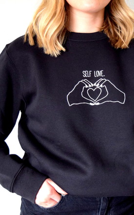 Self Love Jumper by The Alphabet Gift Shop