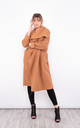 Long Trench Coat with pockets (Camel) by Lucy Sparks