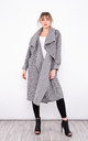 Long Trench Coat with pockets (Grey) by Lucy Sparks