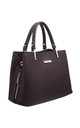 CLASSIC 3 COMPARTMENT TOTE COFFEE by BESSIE LONDON