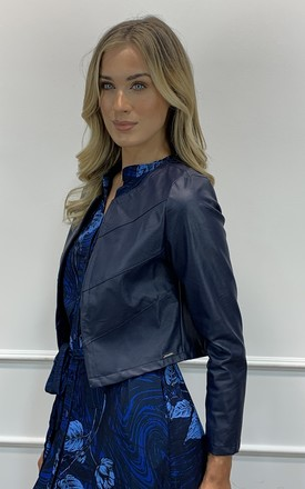 Bolero Jacket Navy by Kate & Pippa