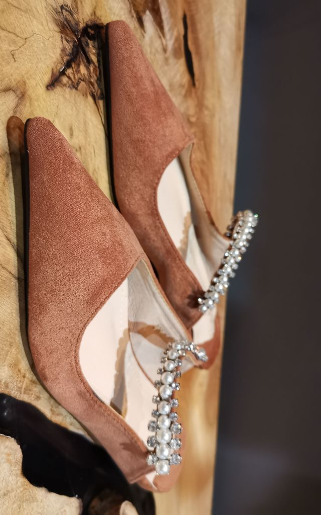 Caramel Pixi Flats by House of Zana