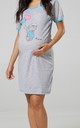 Women's Maternity Nursing Nightie Front Buttons- Skin to Skin Function by Chelsea Clark