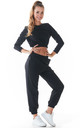 Comfy Joggers with Pockets in Black by AWAMA