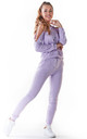 Slim Fit Joggers in Violet by AWAMA