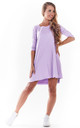 Mini Skater Dress in Violet by AWAMA