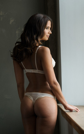 Tiffany Deco Back Thong in Champagne by Emma Harris