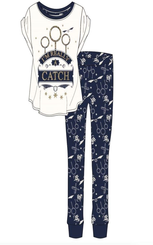 Harry Potter I'm Really a Catch PJ'S by Want That Trend