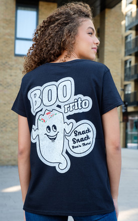 Boorrito Women's Halloween Slogan T-Shirt by Batch1