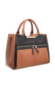 TWO TONE TOTE BAG by BESSIE LONDON