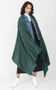 Merino Wool Pashmina Scarf & Travel Blanket in Holly Green by likemary