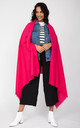 Kasa Merino Wool Pashmina & Oversize Scarf 100 X 200cm in Hot Pink by likemary