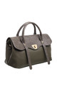LARGE CROC PRINT FLAP OVER TOTE by BESSIE LONDON