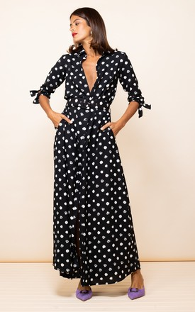 Dove Dress In Painted Dot by Dancing Leopard Product photo