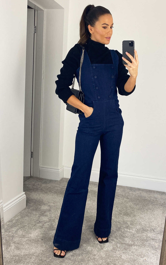 Everly Denim Jumpsuit by Voodoo Vixen