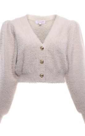 Ariana Cardigan in Nude by Dancing Leopard