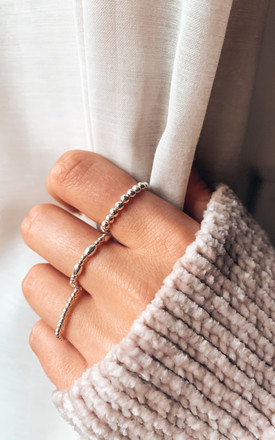 Ophelia Sterling Silver Ring by Makai Collective