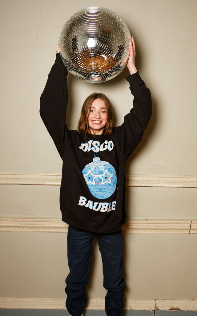 Disco Bauble Women's Christmas Jumper by Batch1