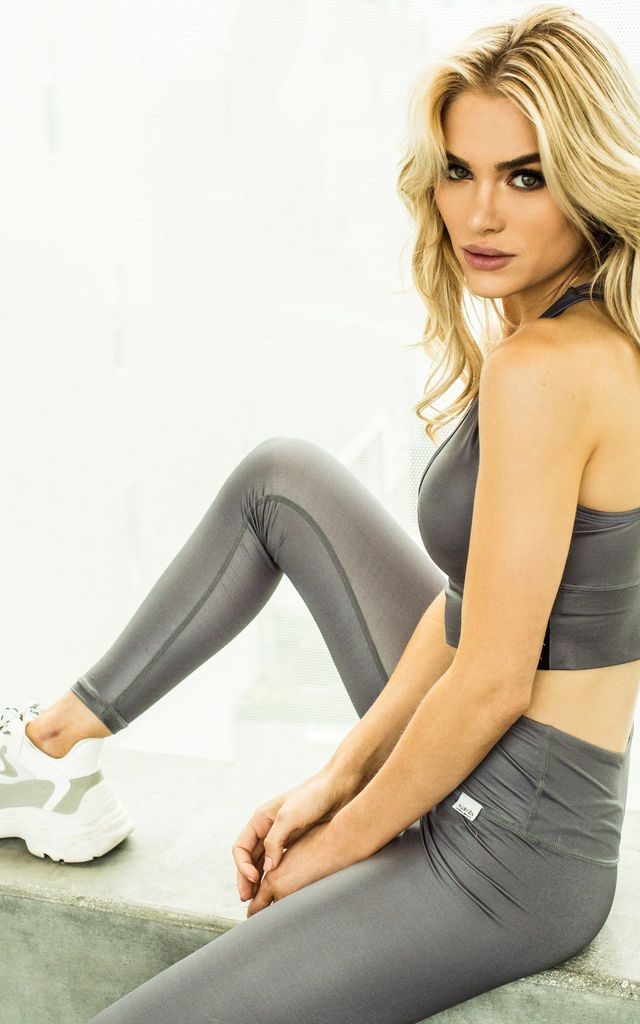Luminance Slate Leggings by Nubyén
