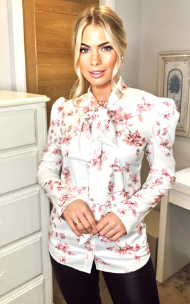 The Lily Pussybow blouse by Anne Louise Boutique
