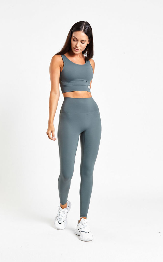 VANTA LEGGING Deep Teal by FITFAM