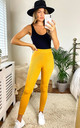 mix & match soft knit rib legging IN mustard by LOES House