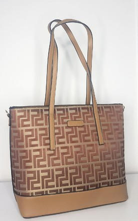 Demi Patterned Bag in Brown by IKRUSH