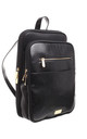 LADY FORMAL OFFICE BACKPACK BLACK by BESSIE LONDON