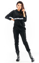 Velour Joggers with Pockets in Black by AWAMA