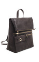 FLAP OVER ZIPPER BACKPACK by BESSIE LONDON