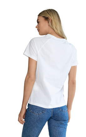 Leo White Embroidered Personalised Zodiac T-shirt by Bezo London