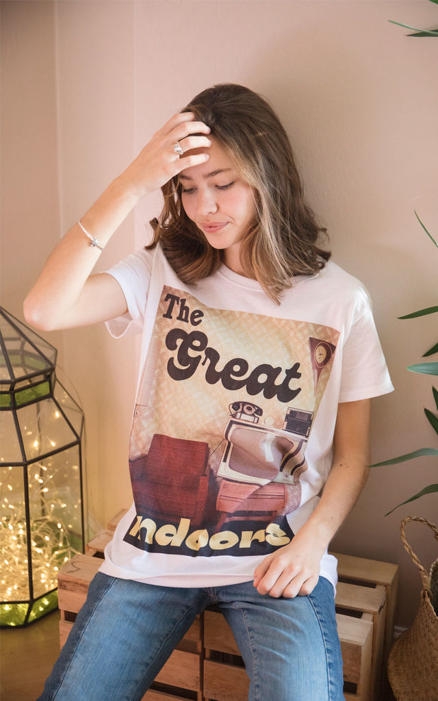 The Great Indoors Women's Slogan T-Shirt by Batch1