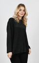 Stylish sparkle thread jumper (Black) by Lucy Sparks