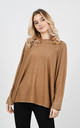 Stylish sparkle thread jumper (Camel) by Lucy Sparks