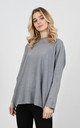Stylish sparkle thread jumper (Grey) by Lucy Sparks