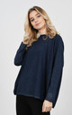 Stylish sparkle thread jumper (Blue) by Lucy Sparks