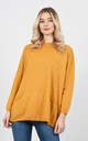 Soft casual sparkle thread jumper (Yellow) by Lucy Sparks
