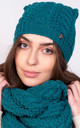 Stylish Beanie in Green by Lanti