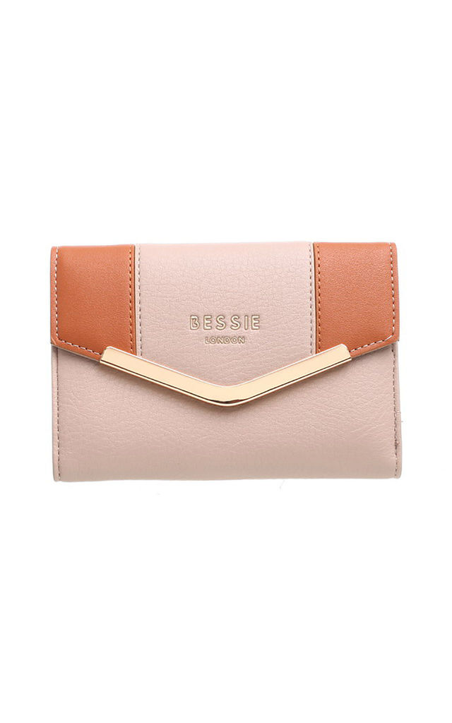 SMALL TWO TONE PURSE by BESSIE LONDON